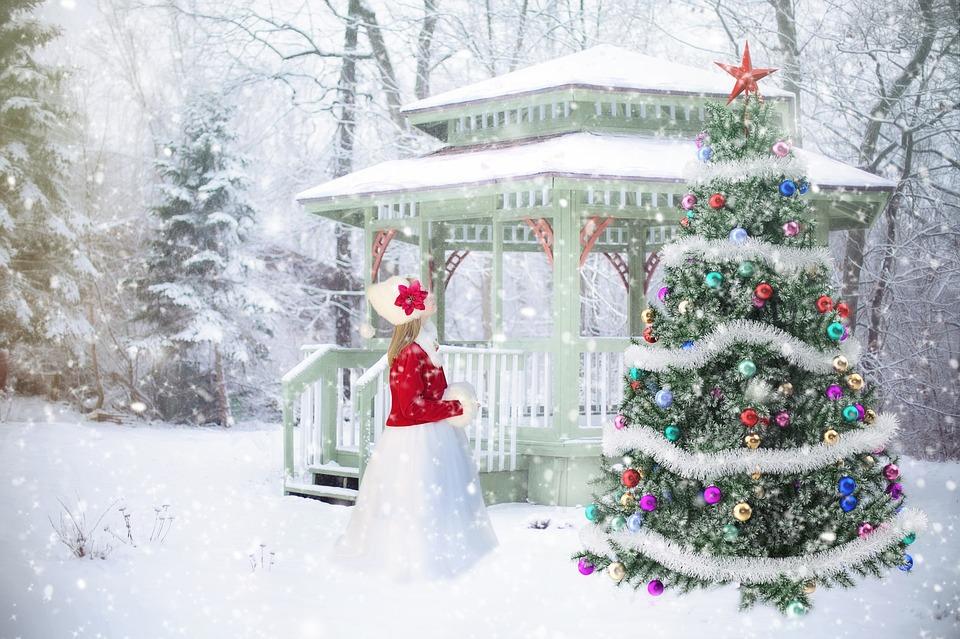 Altán na Vánoce