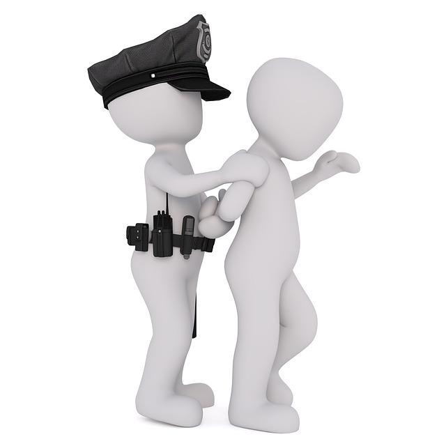 zatčení zločince