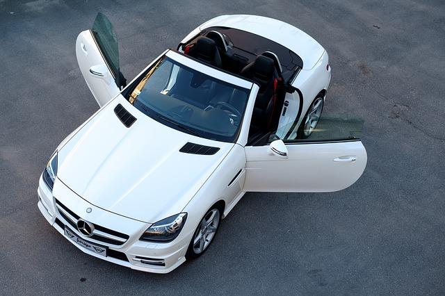 Automobil značky Mercedes