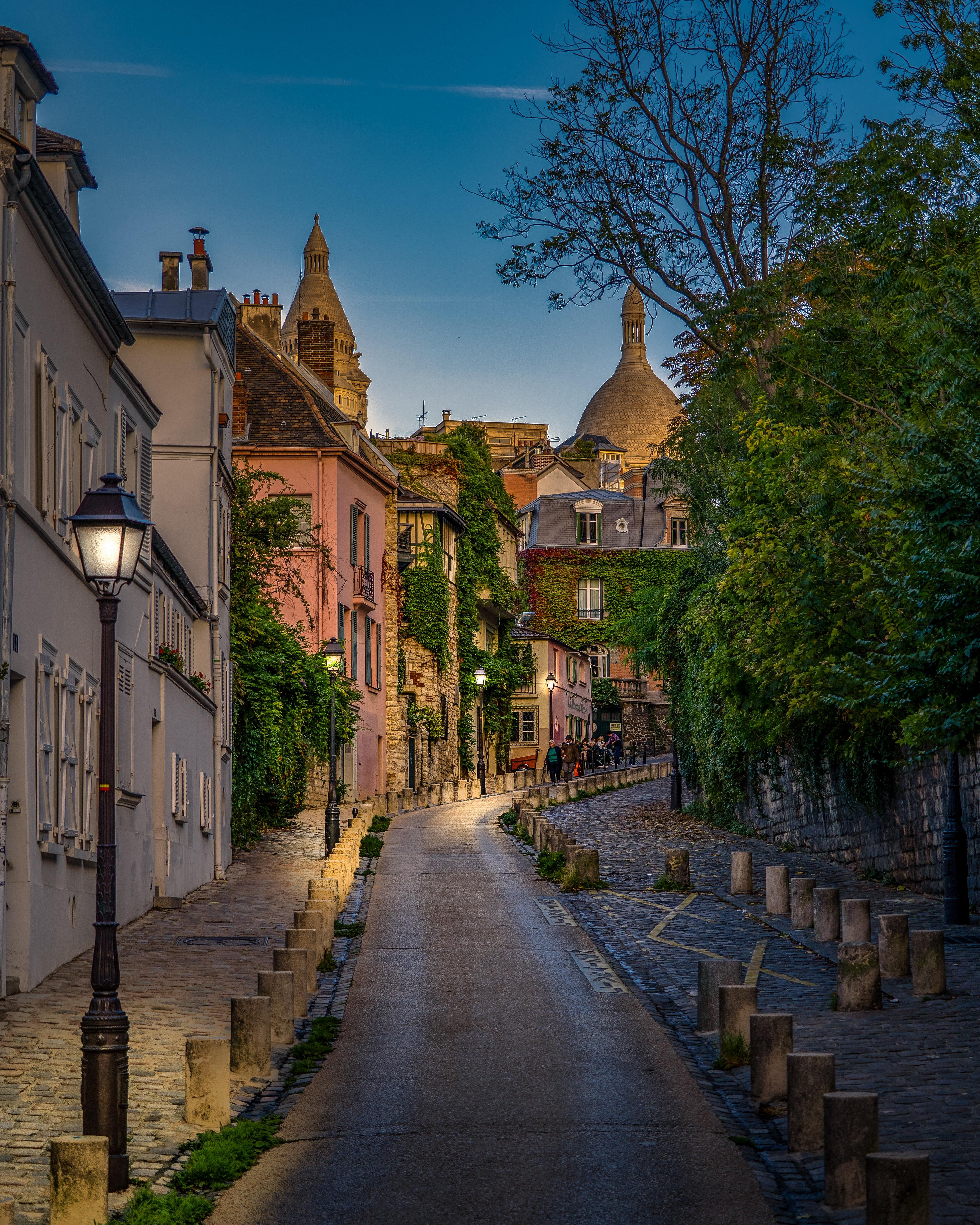 krásná pařížská ulička